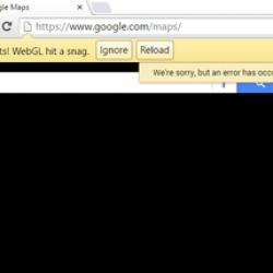"""How to fix """"Rats! WebGL hit a snag"""" error in Google Chrome"""