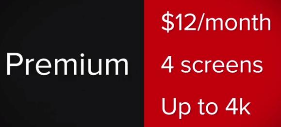 netflix cost