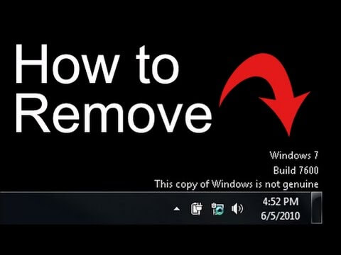 how to make windows 7 genuine