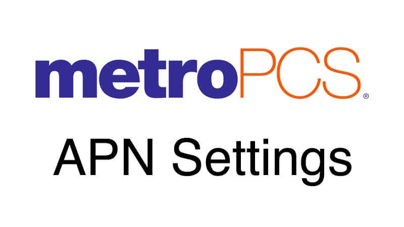 metropcs apn settings