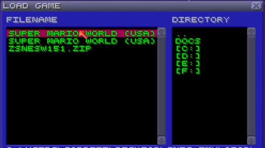 snes emulators for linux