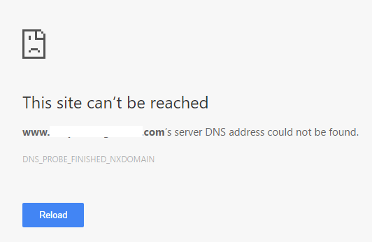 dns_probe_finished_nxdomain_error-server-address-not-found