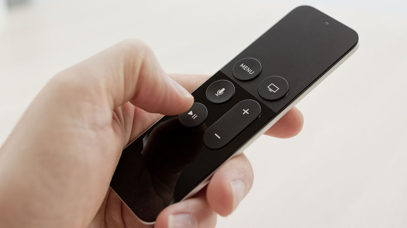 apple tv play button