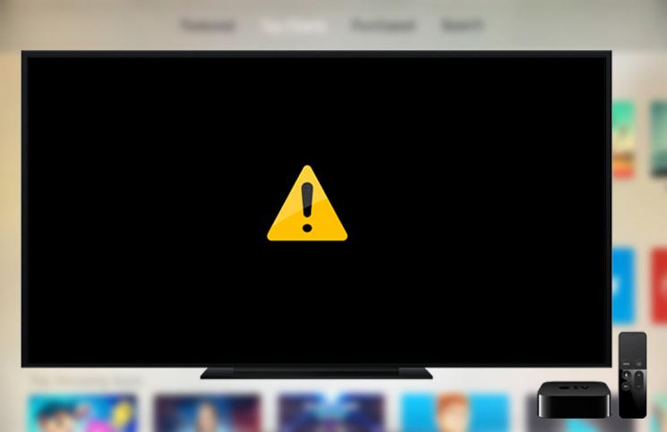 apple tv wont turn on