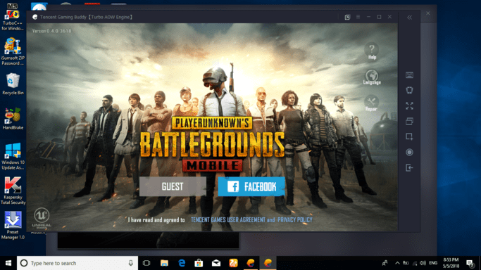 bluestacks pubg