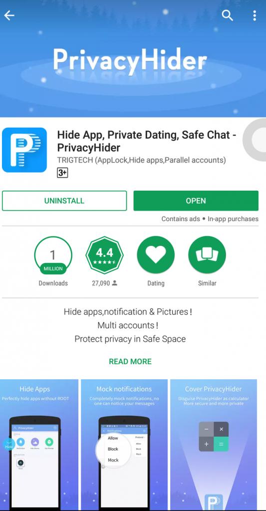 Privacy Hider