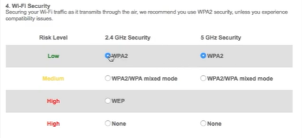 myfiosgateway change password wpa 2