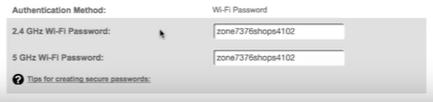 myfiosgateway password