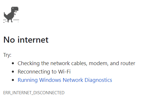 Wifi connected but no internet