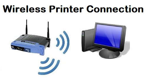 wireless printer connection