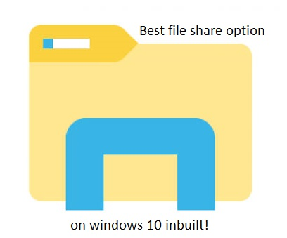 file sharing windows 10