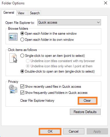 File Explorer Crashing
