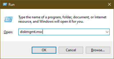 Disk Management Utility diskmgmt.msc