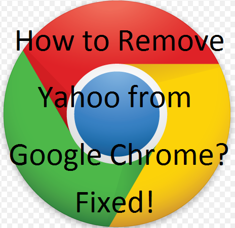 How to remove Yahoo from Google Chrome?