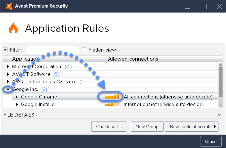 Allow Chrome to access the Network in your Antivirus Settings