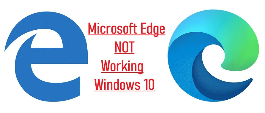 microsoft edge not working windows 10