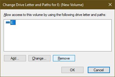 remove drive