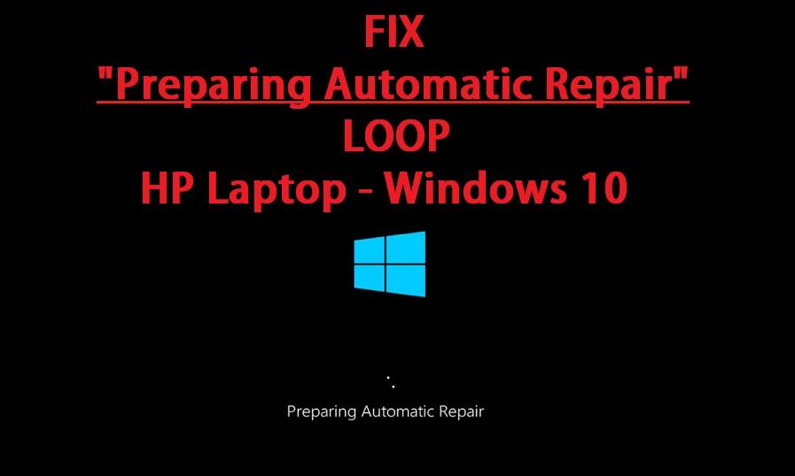 preparing automatic repair hp laptop