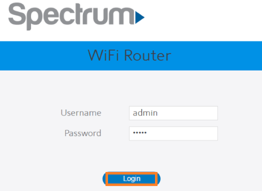 Enter username and password and then hit on Login button