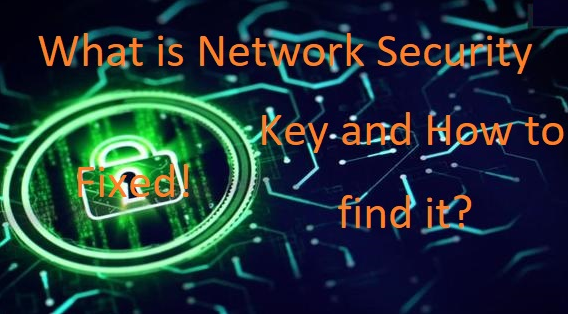 What is Network Security Key and how to find it