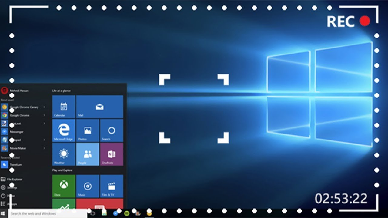 How to Screen Record with Audio on Windows 10 (Inbuilt and Third party Tool)