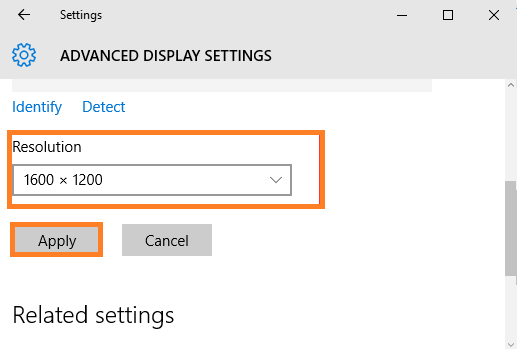 How to Zoom in and Zoom using Screen resolution