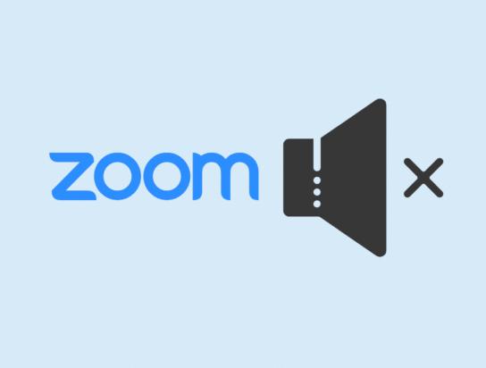 How to mute Zoom audio in meetings