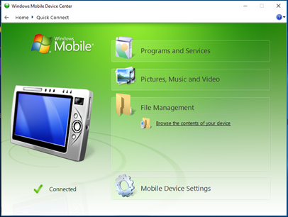 How to Download and Install Windows Mobile Device Center