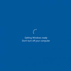 "Fix: Windows 10 stuck on ""Getting Windows Ready"" Blue Screen"