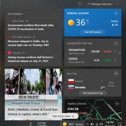 Remove Weather from Taskbar on Windows 10 – EasyWebFixes