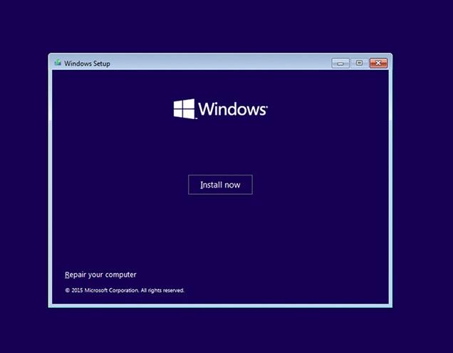 install windows repair computer