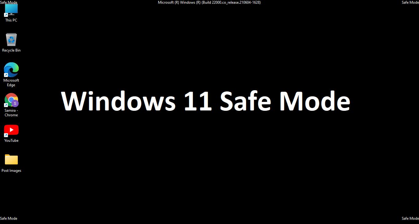 windows 11 safe mode