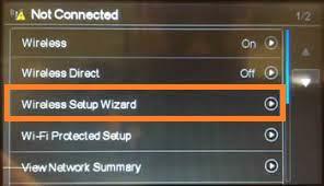 Wireless Setup Wizard