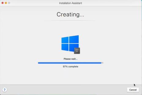 installing windows parallels