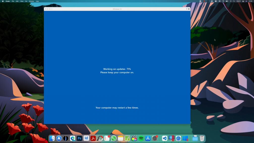 mac windows 11 update