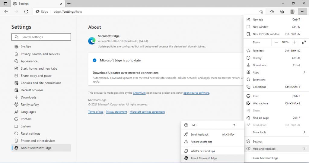 microsoft edge check for updates windows 11