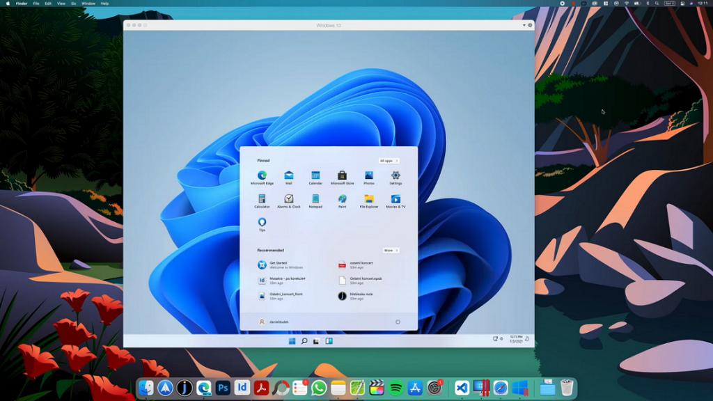 windows 11 on mac parallels