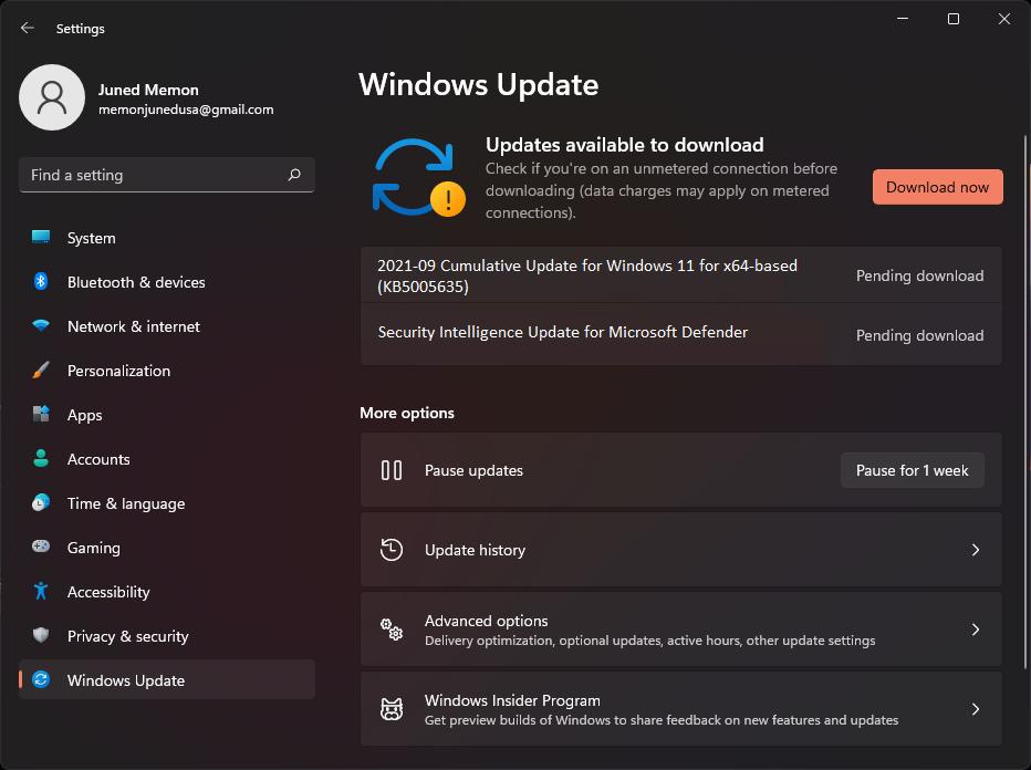 Windows 11 22000 194 kb5005635