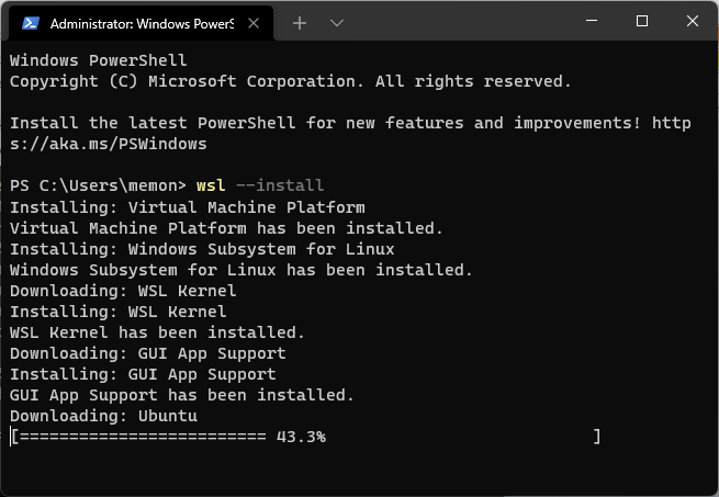 install ubuntu windows 11