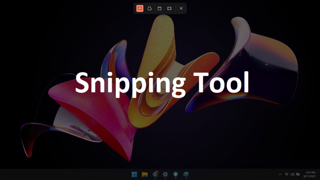 snipping tool windows 11