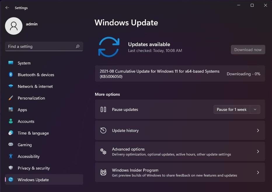 windows 11 22000.176 kb5006050