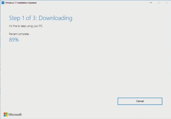 windows 11 downloading