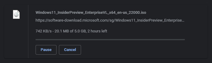 windows 11 enterprise size