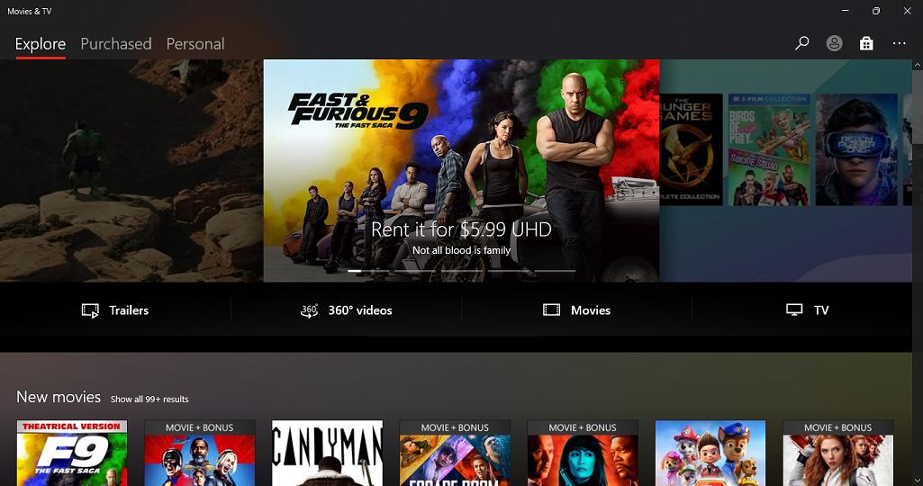 windows 11 movies and tv app