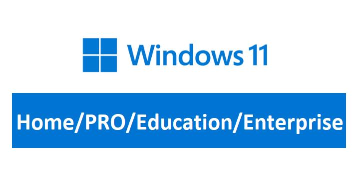 windows 11 home pro education enterprise